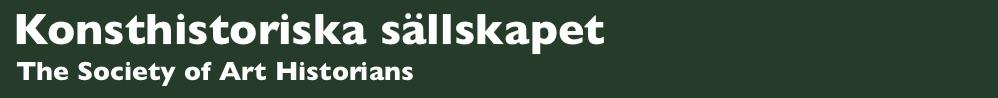 Konsthistoriska sällskapet/The Society of Art Historians